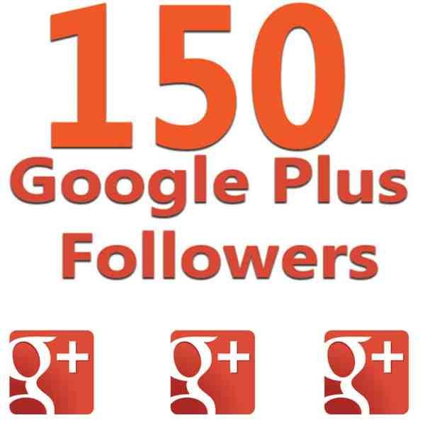 google plus followers