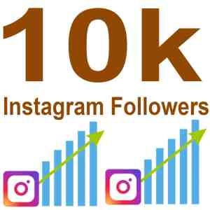 10k instagram followers