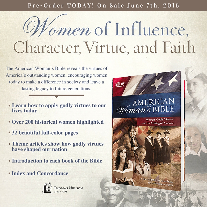 Gift Bible ideal for American women patriots