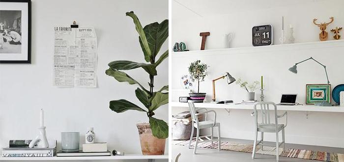 Inspiratiepost Witte muur decoratie  Follow Fashion