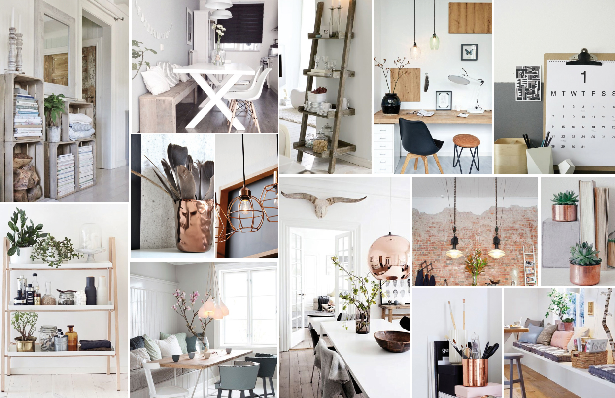 3 X Moodboard Interieur  Follow Fashion