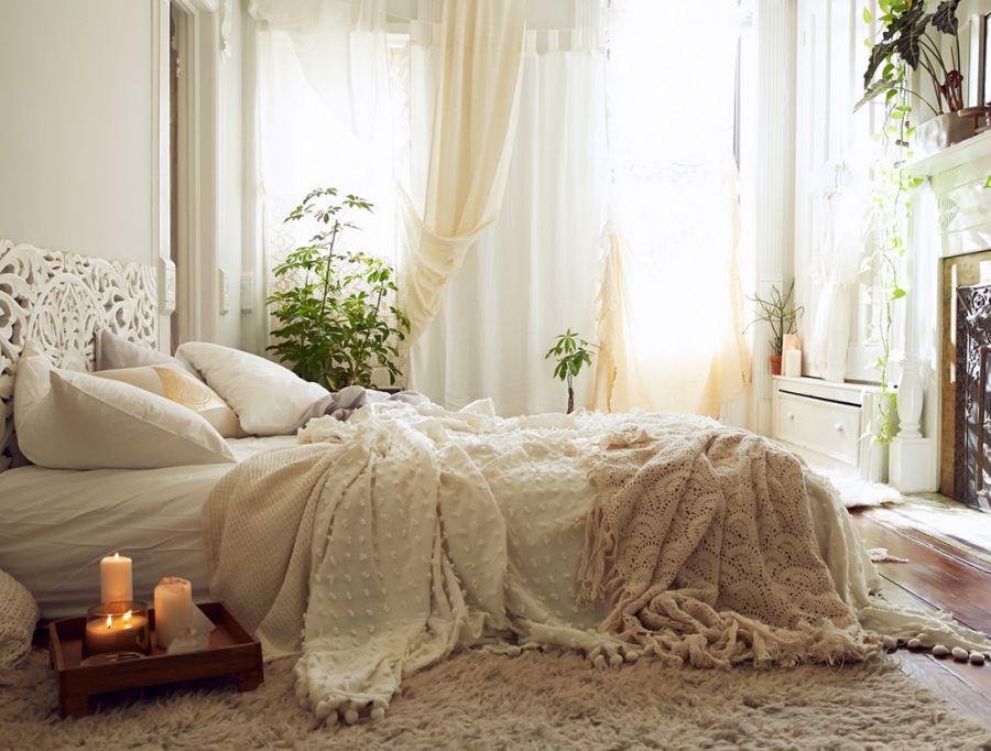 12 manieren om een gezellige slaapkamer te creren