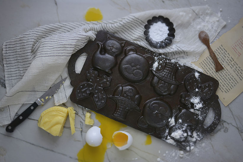 Cast Iron Cookie Mold
