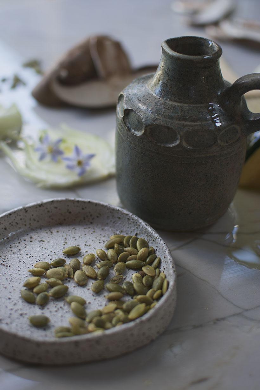 Olive Oil & Pepitas