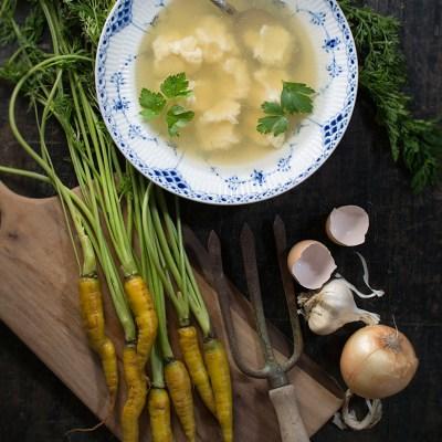 Life's Little Lumps (Dumpling Soup)