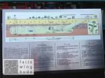Plan des Dritten Invasionstunnels, der 1978 entdeckt wurde