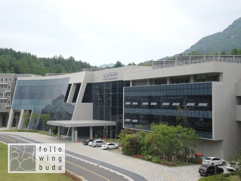 Mind Zone: Hauptgebäude des Taekwondowon
