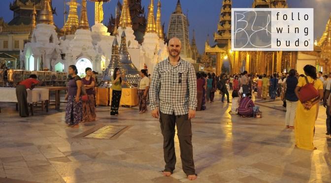 Ankunft in Myanmar