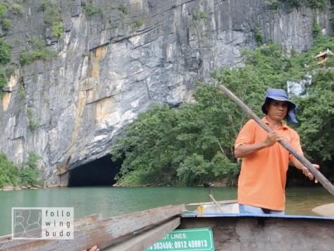 Durch das 'Drachenmaul' geht es in die Höhle