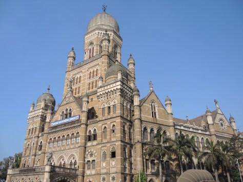 Das Rathaus von Mumbai