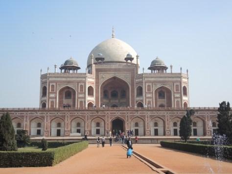 Das Humayun Mausoleum...