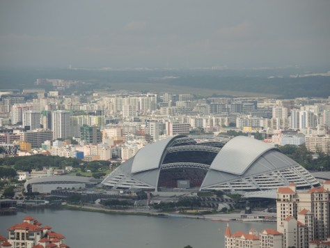 Das Nationalstadion. Derzeit der größte Kuppelbau der Welt.