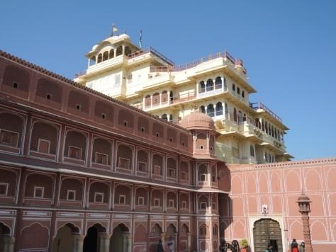 Im hinteren Palast wohnen die Nachfahren der Maharadschas