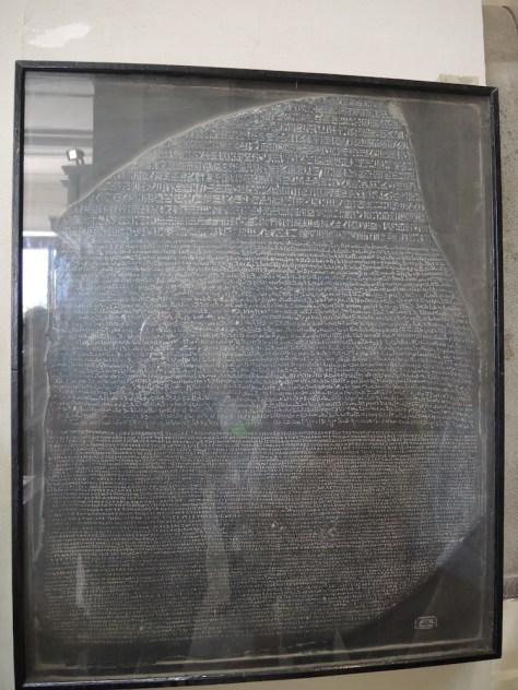 Abbildung des Steins von Rosette