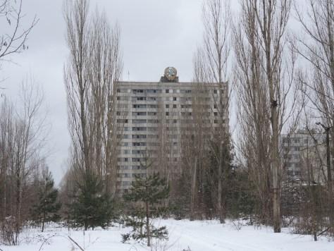 Verlassenes Wohngebäude