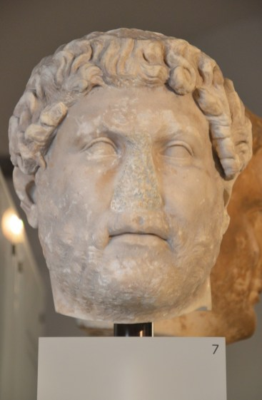 Head of Hadrian, from Italy, Ny Carlsberg Glyptotek, Copenhagen