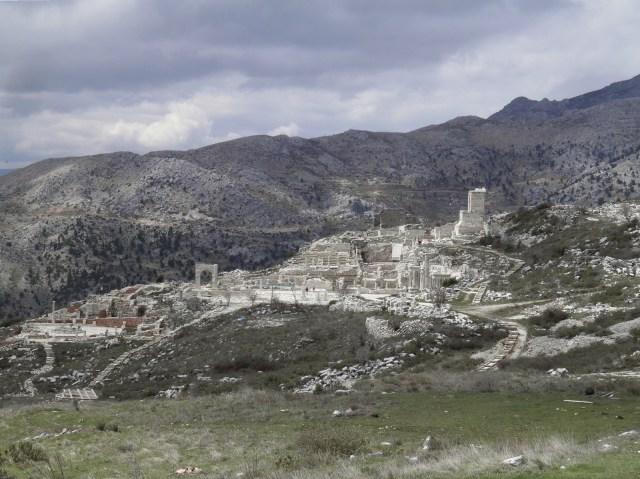 Panoramic view of Sagalassos and the mountainous landscape, Sagalassos, Turkey © Carole Raddato