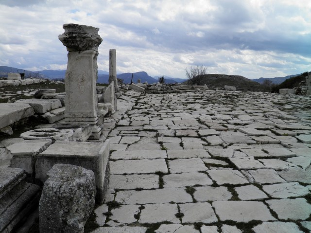 The Eastern Portico of the Lower Agora © Carole Raddato