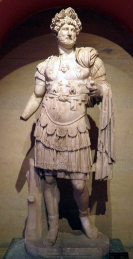 Cuirassed statue of Hadrian wearing the Corona Civica. From Perga, Antalya Museum.