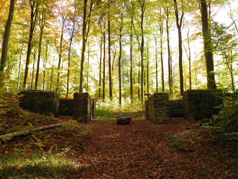 Limeskastell Holzausen, Porta Dextra