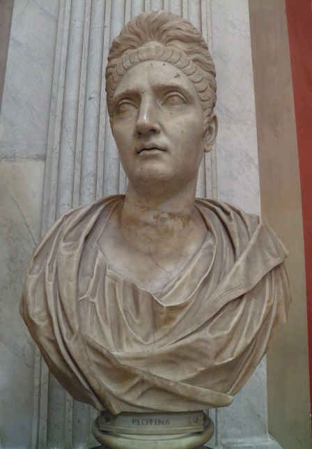 Colossal portrait of the Empress Plotina, the wife of Trajan, 129 AD, Vatican Museums, Rome © Carole Raddato