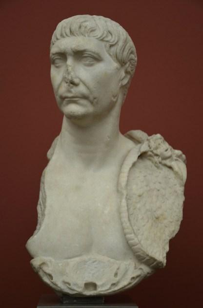 Bust of Trajan, from the Baths of Caracalla, Rome, AD 98-117, Ny Carlsberg Glyptotek, Copenhagen © Carole Raddato