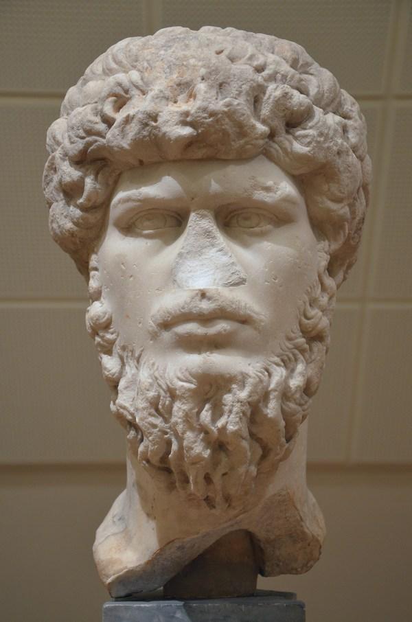Lucius Verus, from Mahdia, Tunisia, National Museum of Denmark, Copenhagen © Carole Raddato