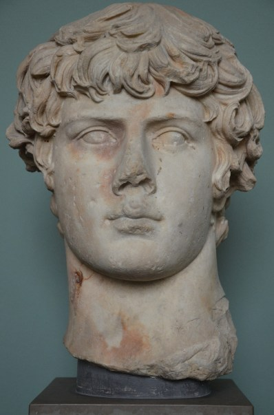 Antinous, shortly after 130 AD, Ny Carlsberg Glyptotek, Copenhagen