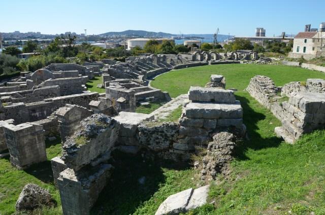 The Roman amphitheatre, Salona © Carole Raddato