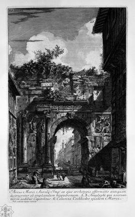 Giovanni Battista Piranesi - Campus Martius // Opere di Giovanni Battista Piranesi, Francesco Piranesi e d'altri. Firmin Didot Freres, Paris, 1835-1839.
