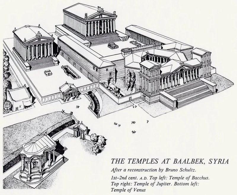 Temple of Jupiter, Baalbek