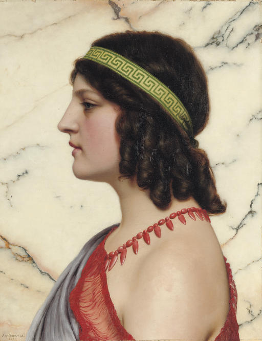 Praxilla by John William Godward (1921)