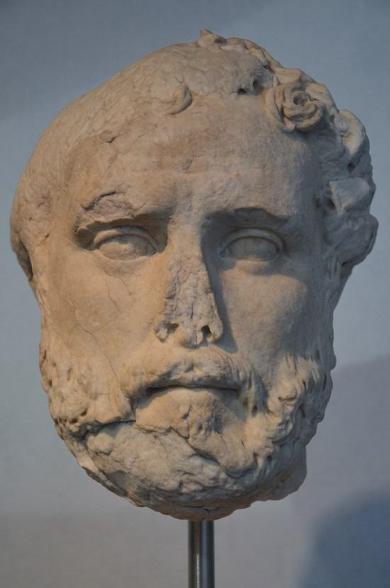 Portrait of Antoninus Pius, from Hadrian's Villa, c. 161 AD. Palazzo Massimo alle Terme, Rome