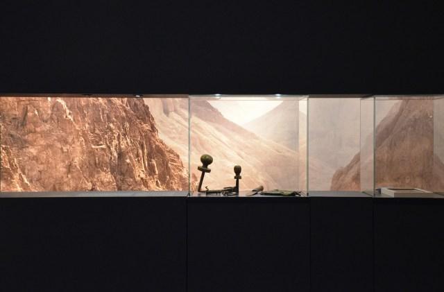Artefacts from the Bar Kochba caves in the Judean Desert. Hadrian: An Emperor Cast in Bronze, Israel Museum.