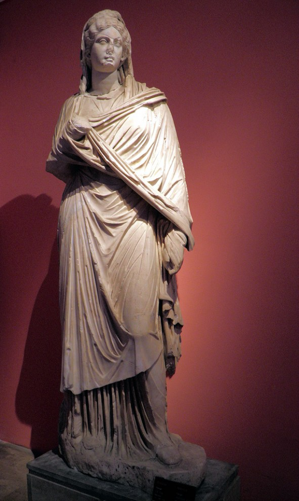 Statue of Sabina from Perga, Antalya Museum
