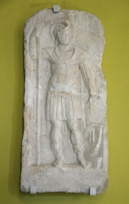 Legionary from legio XI Claudia, 2nd-3rd century AD. Silistra Museum of History.