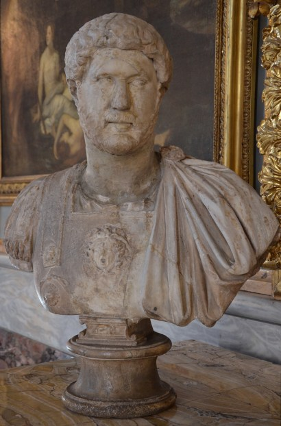 Cuirassed bust of Hadrian (type: Baiae), from Italy, Palazzo Colonna, Rome