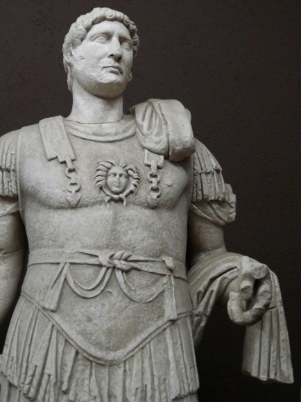 Hadrian Statue from Troia IX (BC 85 AD 450), found in the Odeon, Troy (Ilium), Canakkale Museum Turkey