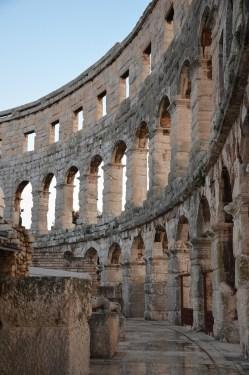 Pula Arena, Roman Amphitheatre, Pula © Carole Raddato