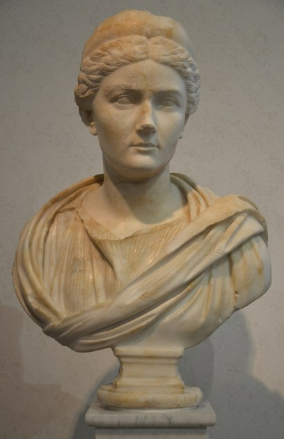 Sabina (wife of Hadrian), found on the Via Appia, 134-136 AD, Palazzo Massimo alle Terme, Rome