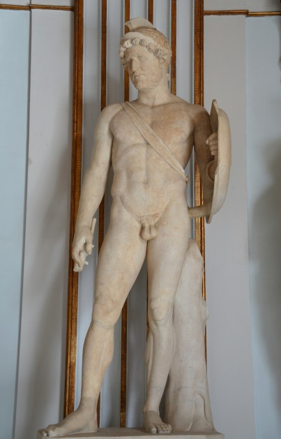 Statue of Hadrian as Mars, god of Mar, from Rome, AD 117–125, Capitoline Museums © Carole Raddato