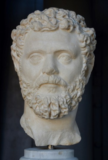 Portrait of Septimius Severus.