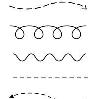 FREE Printable Cut & Trace Preschool Worksheet