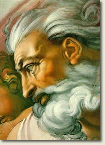 God by Michelangelo