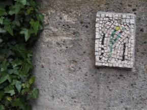 street art mosaic