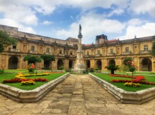 Convento Santa Clara cloister
