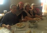 The amazingly kind family who brought me in off the street and fed Joanna and I lunch!