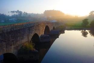 Ponte Dom Zameiro, a medieval bridge