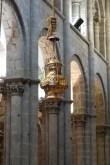 The botafumeiro in Santiago Cathedral