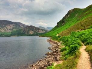 Scenic views around Ennerdale Water